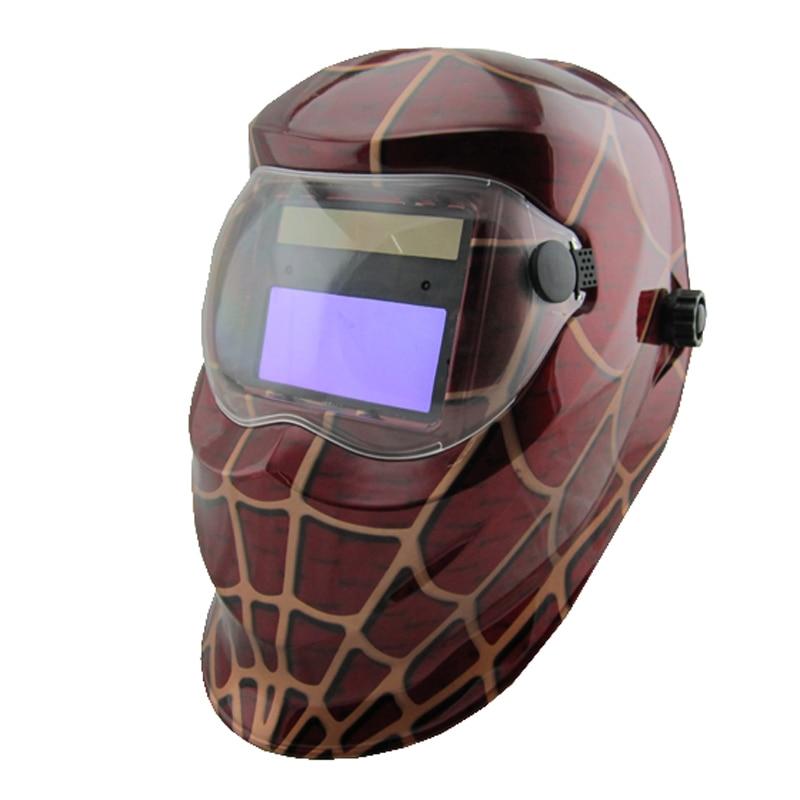LI Battery solar Automatic darkening welding helmet/welder mask/eyes mask/welder cap for welding machine and plasma cutter стоимость