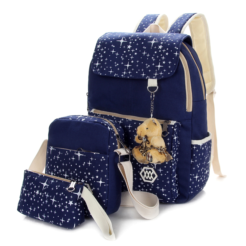 Aliexpress.com : Buy 2016 Canvas Backpacks Set School Bags For ...