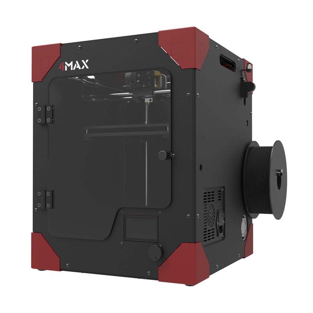 Anycubic FORMAX 3D принтер большой Размеры модульная Дизайн Высокая точность FDM настольных impresora 4max DIY Kit как 1 кг нити для подарка