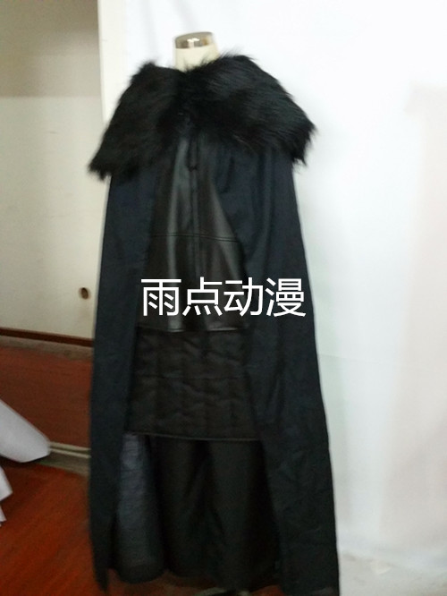 Game of Thrones Costume Jon Snow Costume Halloween Costume