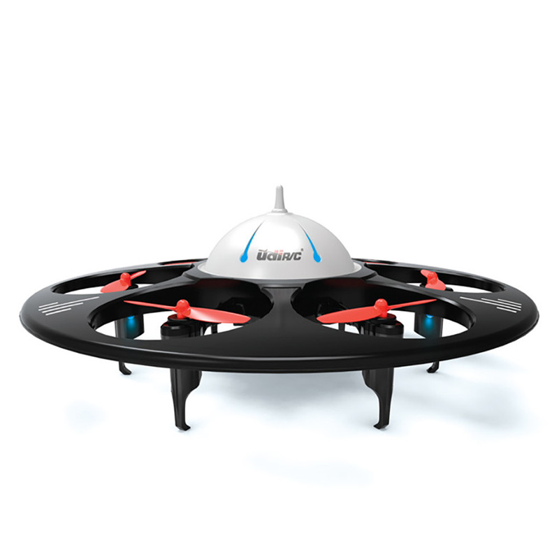 rc drone UFO U945A With HD Camera and Wifi Real-Time FPV Monitor 2.4GHz 6Axis RC Quadcopter Headless Mode Flying Saucer Aircraft jjr c jjrc h43wh h43 selfie elfie wifi fpv with hd camera altitude hold headless mode foldable arm rc quadcopter drone h37 mini