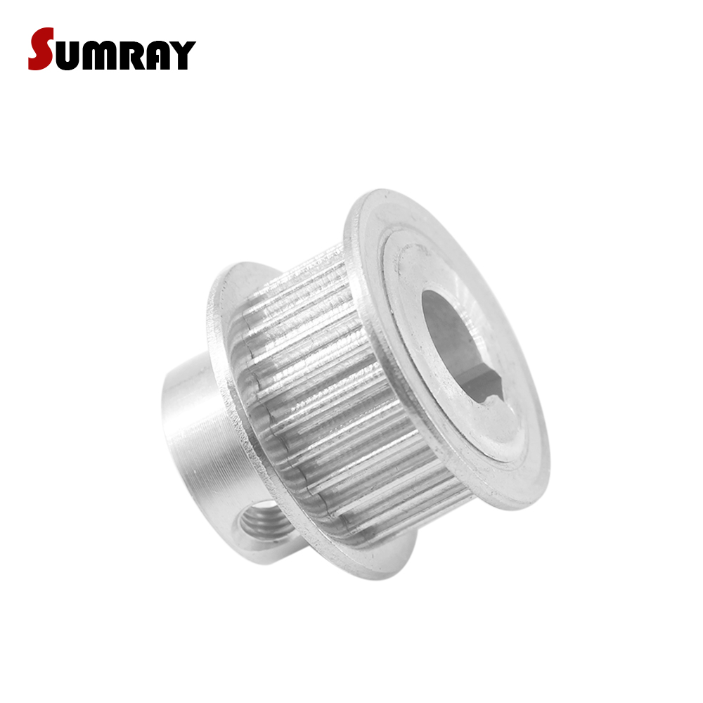 XL-20T Flat Timing Pulley Wheel keyway for Width 11mm Belt Reprap 3D Printer CNC