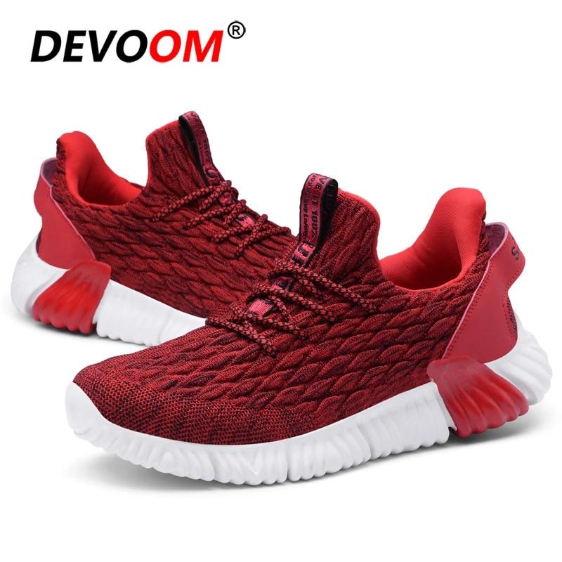 Men Running Shoes Epic React Basket Air Mesh Sneakers Elastic Sport Shoes Solid Black Sneakers for Men 2019 New Arrival