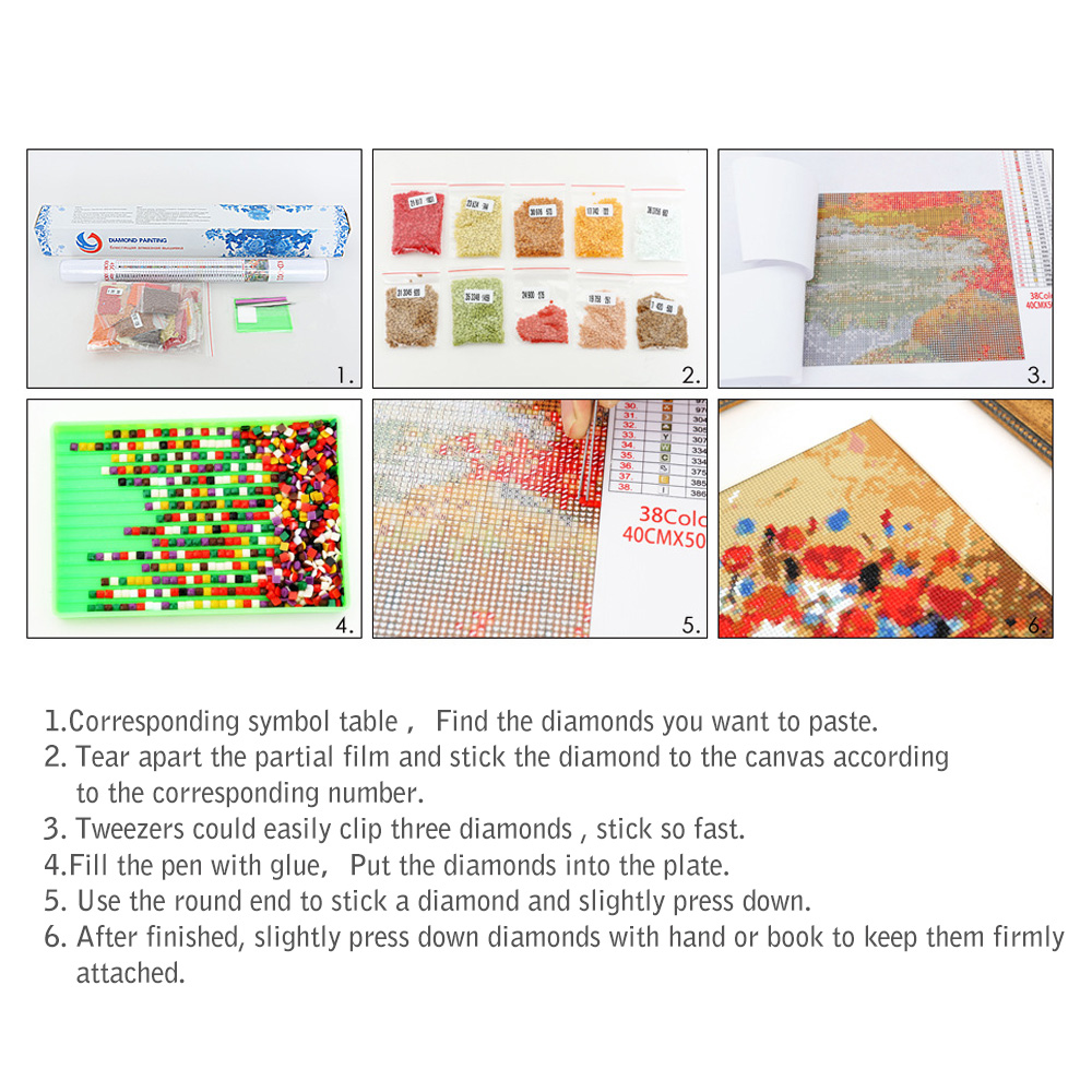 DIY Diamond Painting 5D Diamond Embroidery Space Star Diamonds Mosaic Cross Stitch Needlework Full Square Drill Home Decoration
