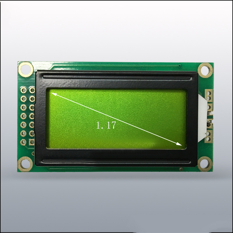 Blue//Yellow 0802 8x2 Character LCD Display Module 5V LCM F Raspberry pi Arduino
