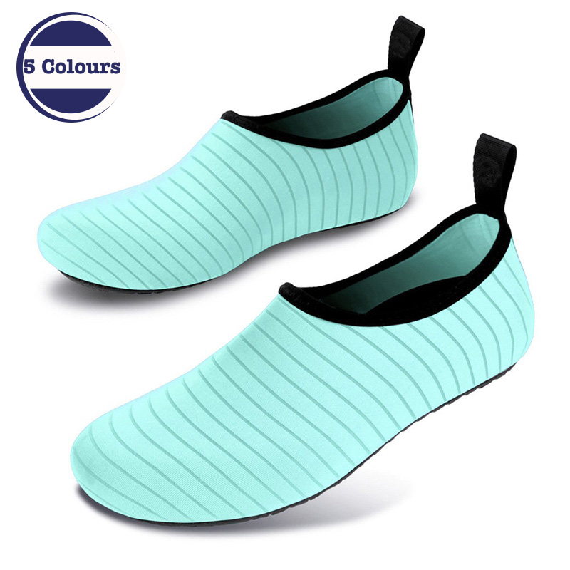 Breathable Beach Water Sport Socks Anti Slip Shoes Yoga Fitness Dance Swim Surfing Diving Underwater Shoes for Men Women in Men 39 s Sandals from Shoes
