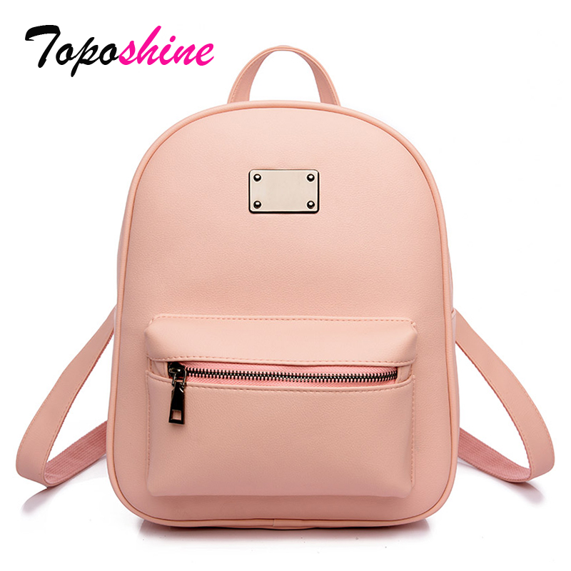 Women Backpack Academical Mochila School-Bags Escolar Teenagers Girls Fashion PU