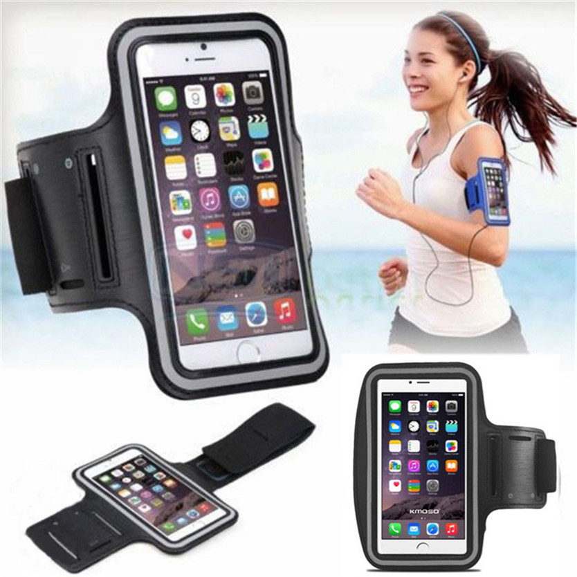 Sport Arm Band Case for iPhone 5 6 6S Samsung Galaxy S5 S6 Edge S7 փողային ծածկ ՝ Xiaomi mi5- ի համար Huawei P8 Lite- ի համար