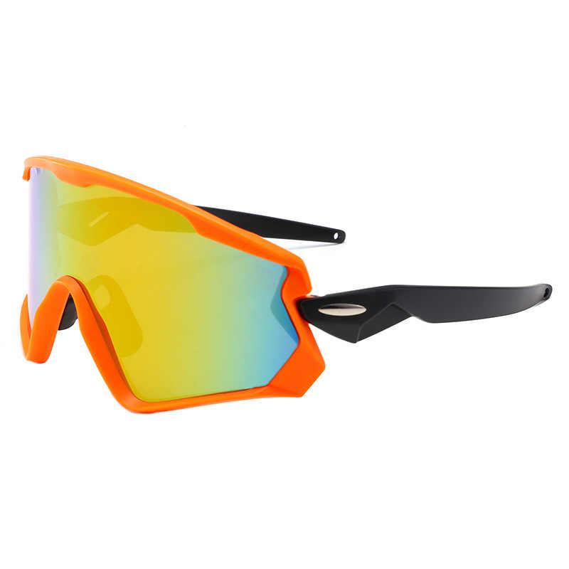 7d5d3a7890fe ... UV400 Cycling Eyewear sunglass MTB Bike Bicycle Windproof Goggles  Outdoor Sport Glasses Large frame Racing Eyewear ...
