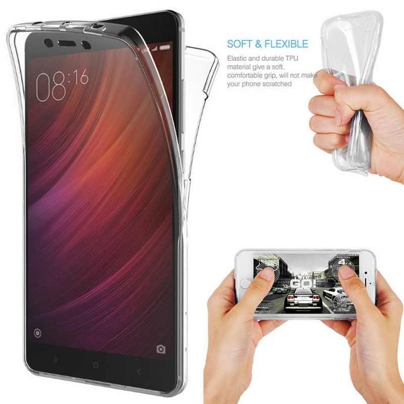 360 Full Độ Phủ Mặt Trước Sau Bảo Vệ Mềm Mại Ốp Lưng Dành Cho Dành Cho Samsung Note 10 Pro 9 S10 S9 S8 Plus A7 A6 a8 A9 2018 J4 J6 Thủ A50 A70
