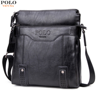 VICUNA POLO Vintage Hollow Out Messenger Bags For Men Retro Antique Business Leisure Leather Mens Bags