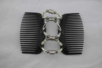 metal style vintage pattern Magic Hair Combs double hair combs hair accessories Free shipping
