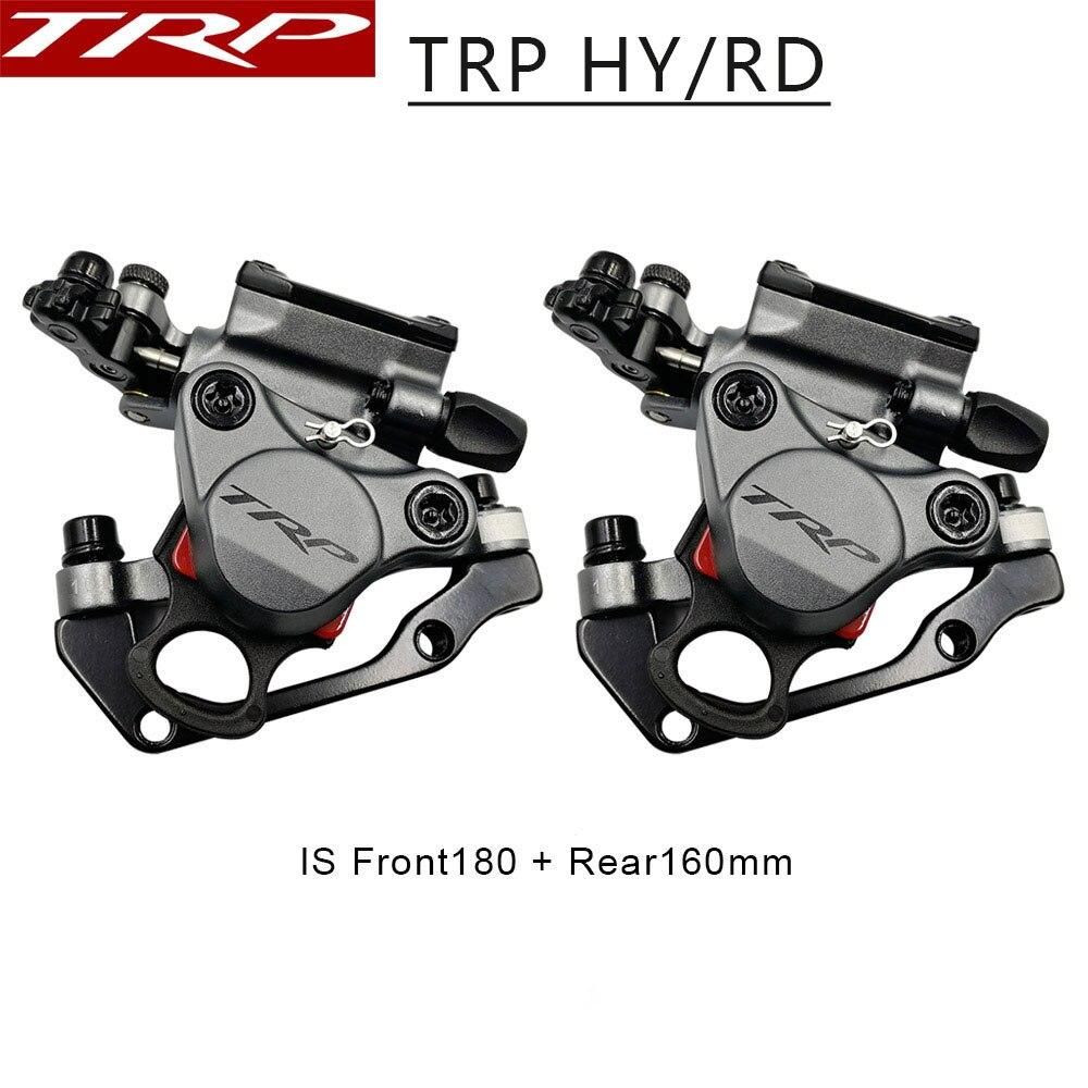TRP HY/RD freins à vélo câble de montage sur poteau étrier de frein à disque hydraulique actionné 160mm avec ou sans Rotor avant/arrière/Set HYRD ROAD