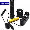 Led Flashlight Lanterna Torch CREE XML-T6 5 Modes 2000 Lumen Flashlight  Linternas Led Flashlight With Gun Clip Remote Switch