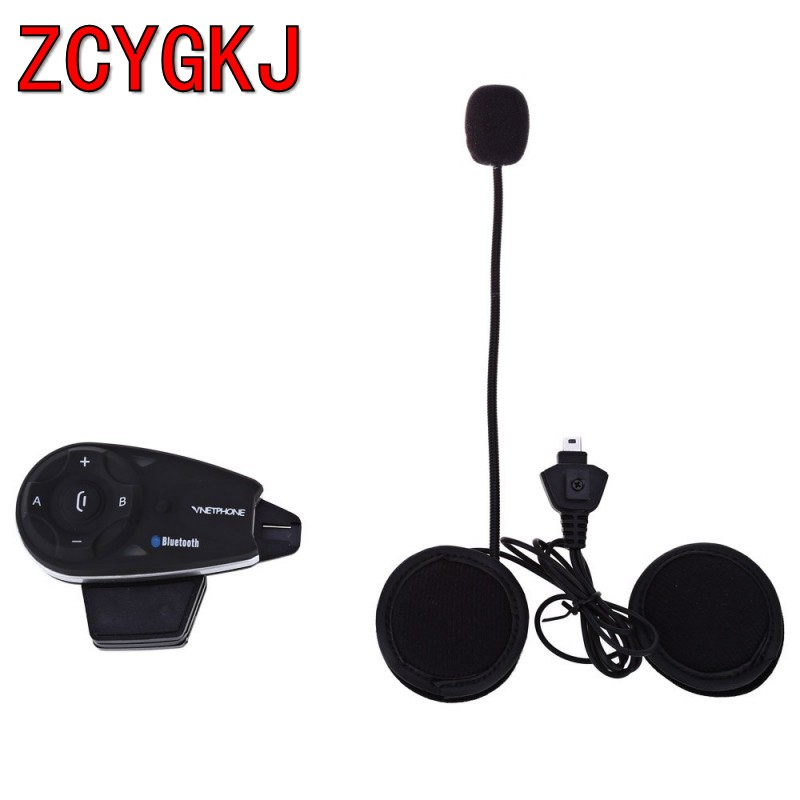 Bonzeal V5 Full Duplex 5 riders1200m motorcycle intercom helmet bluetoot interphone headset moto intercomunicador with FM car evolis avansia duplex expert smart