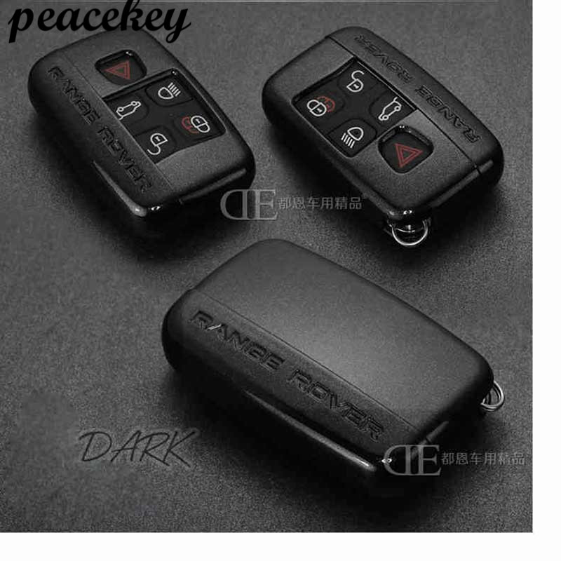 Abs Car Key Case Cover stikcer For Land Rover Range Rover Evoque Accessories Freelander Discovery Keychain Case Wallet Colors carbon fiber style abs plastic for land rover range rover evoque 12 17 center console gear panel decorative cover trim newest