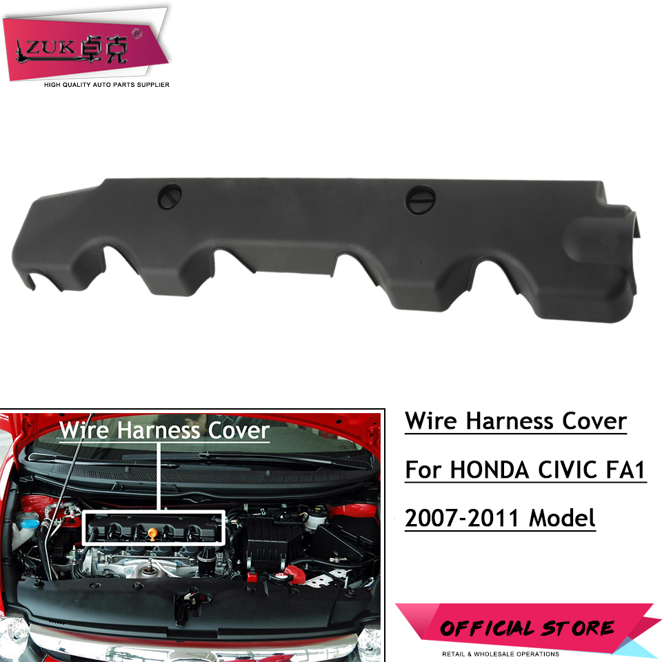 Aliexpress.com : Buy ZUK High Quality Engine Wire Harness Cover Case Bonnet  For HONDA CIVIC 2007 2008 2009 2010 2011 ACCORD VEZEL HRV CRV CITY from  Reliable ...