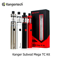Original Kanger Subvod Mega TC Kit com 4 ml Topfill tanque 2300 mah controle de temperatura da bateria cigarro eletrônico Kit ( MM )