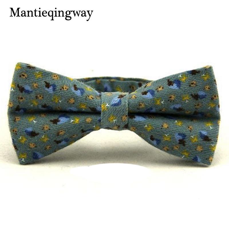 Mantieqingway Signori Cotone Papillon Modo di Marca Stampato Floreale Bow  Tie Vestito di Affari degli uomini Papillon Unisex Tuxedo Dress Tie c67f000ca6dc