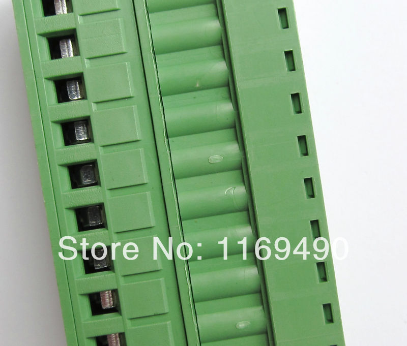 10 pcs Push-pull Wire Connectors Pitch 5.08mm 11P Screw bend pin Terminal blocks Female , Free shipping 50 sets 4pin 2 54mm pitch 20cm wire pin header housing terminal connector wire connectors adaptor xh 4p kits