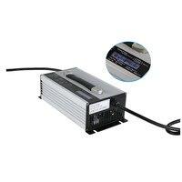 Питание 96 В 10A Батарея Зарядное устройство Li ion/LiFePo4/свинцово кислотная 96 вольт 10 ампер
