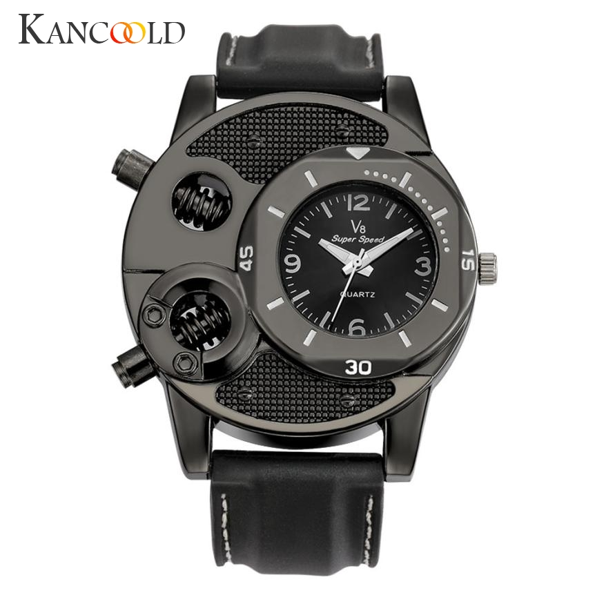 Men's Watch  1PCS Fashion Men's Thin Silica Gel Students Watch Sports Quartz Watches Man Clock Drop Shipping 2018JUL16