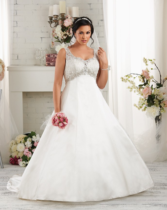 Wedding Dresses for Heavier Brides