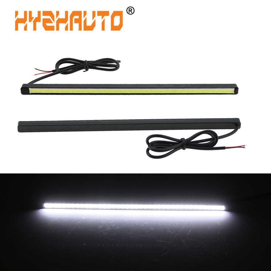 2x Waterproof 12V LED COB Car Auto DRL Driving Daytime Running Lamp Fog Light ut