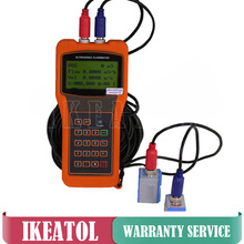 Free shipping TUF-2000H Ultrasonic Liquid Flow Meter / TL-1-HT Transducer (DN300-6000mm) / Handheld Flowmeters цены