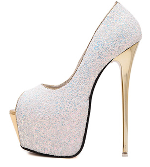 54d82eb4e47ace Dropwow Eilyken 2018 New Platform Ultra High Heels Woman Shoes Sexy ...