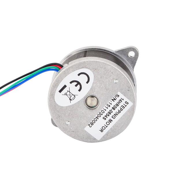 0.9deg Round Nema 14 Stepper Motor 12Ncm/17oz.in Bipolar 0.65A 36×19.5mm 4-wires