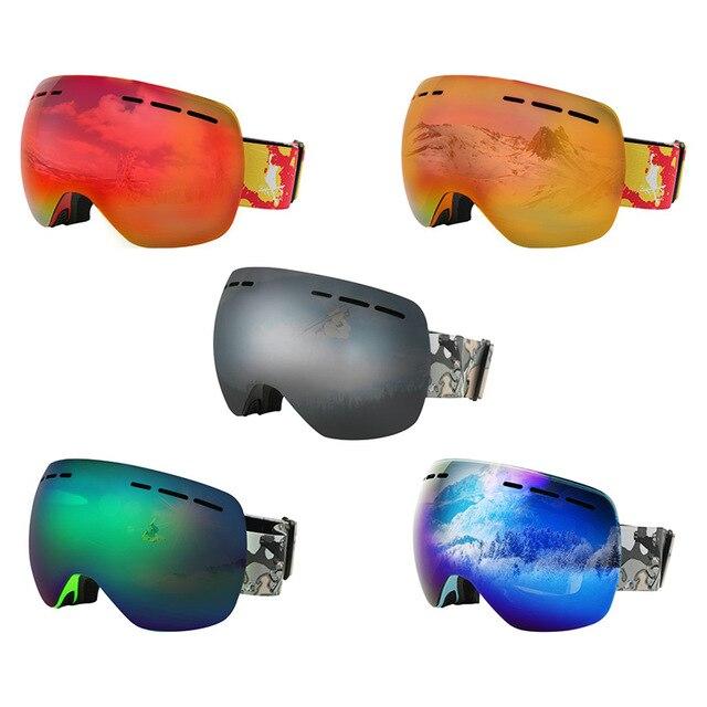Professional skiing goggleDouble Anti Fog UV-CUT Spherical Skiing Eyewear Outdoor Sports Snow goggles Ski Glasses For Men Women