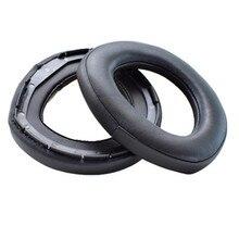 Almohadillas de espuma de repuesto de alta calidad almohadillas para el oído almohadillas para auriculares Sennheiser HD800 de cuero suave y cómodo 20 JulyO0
