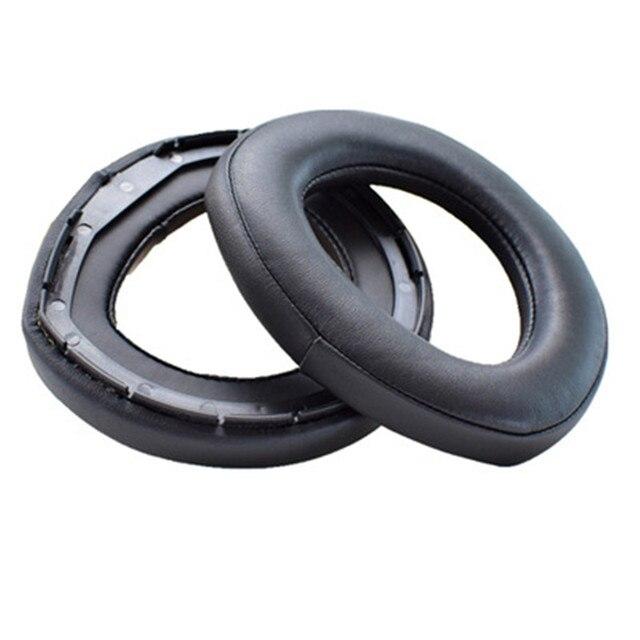 באיכות גבוהה החלפת קצף אוזן רפידות כריות Earpad לsennheiser HD800 אוזניות רך ונוח עור 20 JulyO0