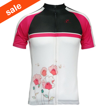Women's Cycling Jersey 2017 Summer Best Selling Polyester Breathable Short Sleeve Cycling Shirts Cycling Clothing