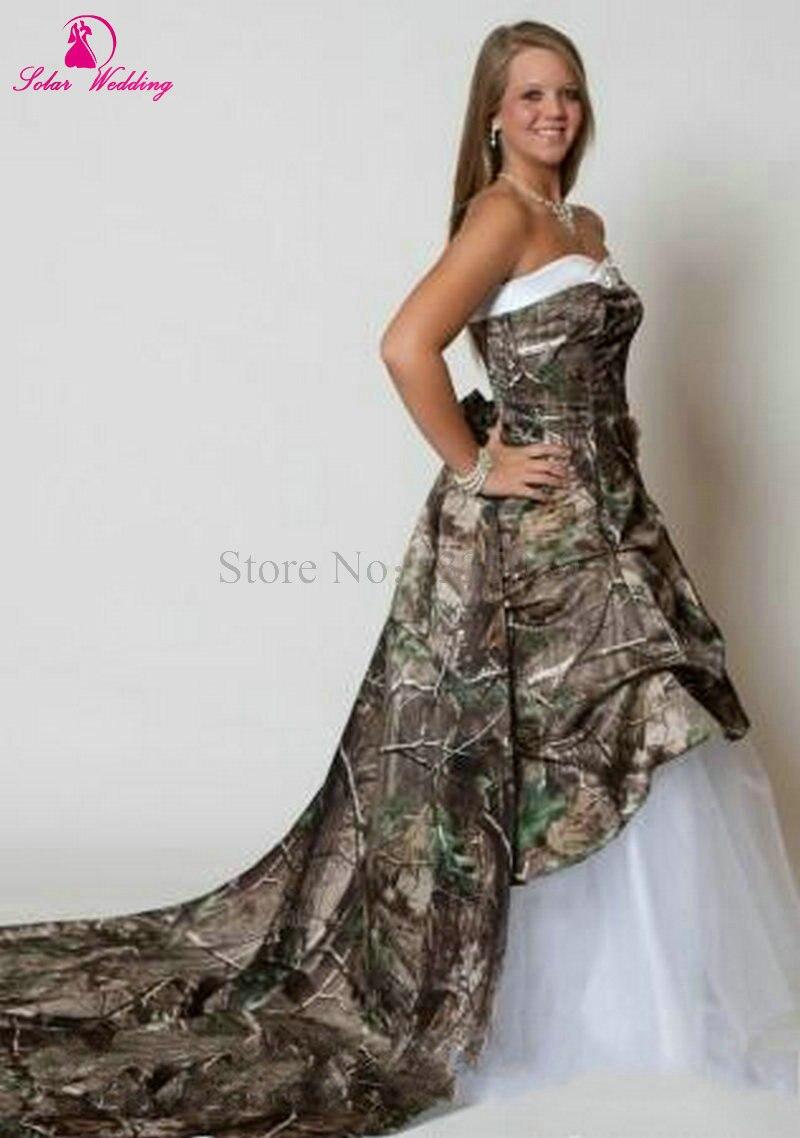 Hermosa Vestido De Novia Con Camuflaje Regalo - Ideas de Vestidos de ...