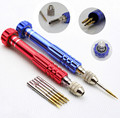 5 in 1 Aluminum Alloy Pentalobe Repair Screwdriver Set Kit For iPhone Samsung