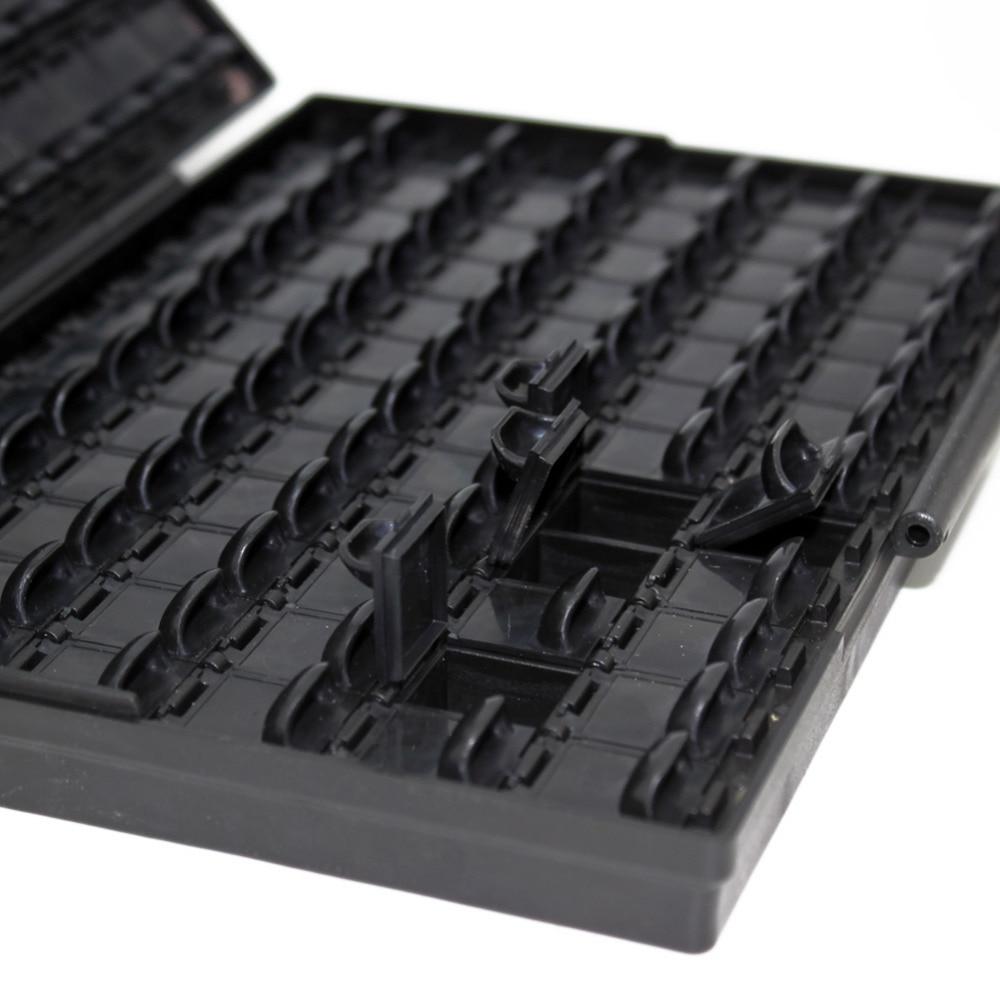 AideTek ESD biztonságos SMD tároló IC-dobozok Antisztatikus SMT - Szerszámtárolás - Fénykép 3