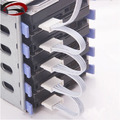 PC Server 4pin IDE Molex 1 to 5 SATA Adapter Splitter Power Cable Cord 18AWG White for HDD SSD