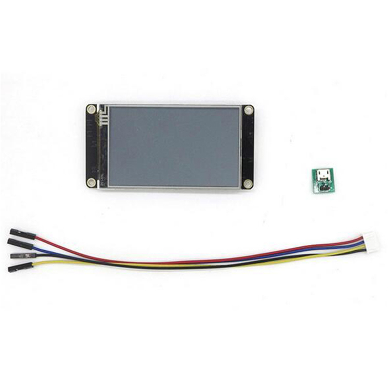 3.2นิ้วที่เพิ่มขึ้นHMIอัจฉริยะสมาร์ทUSART UARTอนุกรมสัมผัสTFT LCDโมดูลจอแสดงผลสำหรับราส