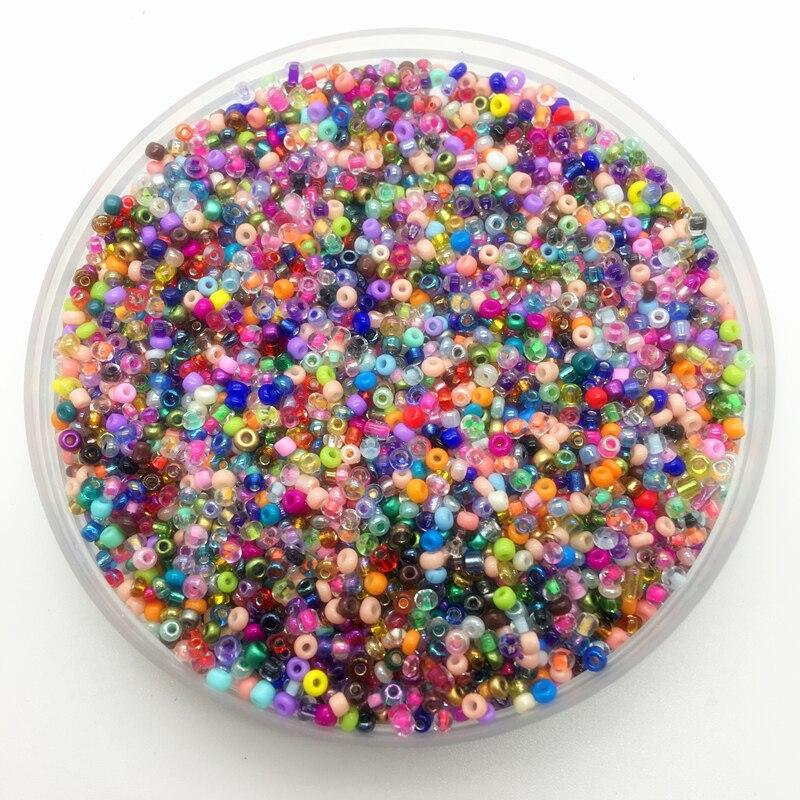 Смешанные цветные бусины из чешского стекла для самостоятельного изготовления браслетов, ожерелий и аксессуаров, 2 мм, 3 мм, 4 мм