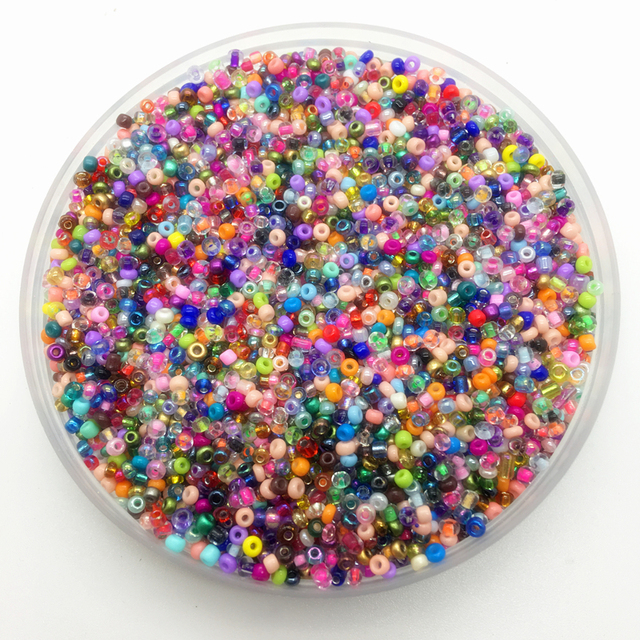 2mm 3mm 4mm Mix Color Charm Czech Glass Seed Beads DIY Bracelet Necklace For Jewelry Making DIY Accessories