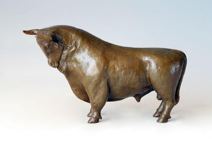 Reasonable Red Copper Crafted Wall Street Stock Market Symbol Bull Bullish Home Decor Gift Ture 100% Guarantee Art