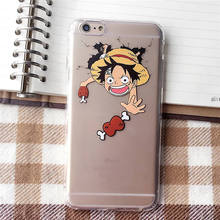 One Piece Chopper Luffy Soft Cover Case For iPhone