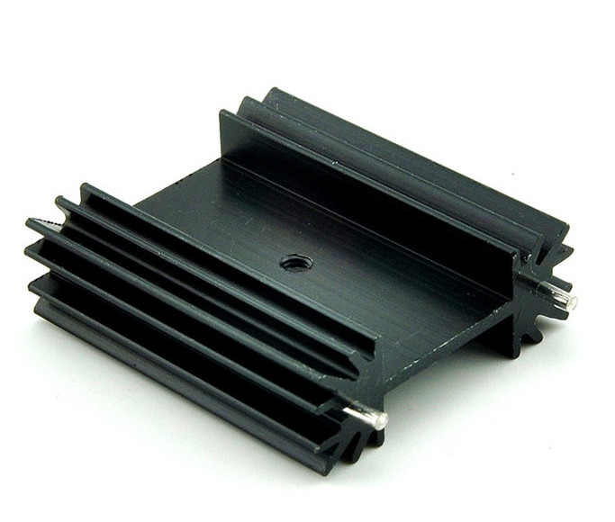 Free Ship 2pcs/lot TO-247 heat sink/heat sink for Audio 38*34*12MM cooling block radiator/ transistor heat sink block