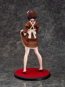 Image 3 - Daiki koogyou Iya na Kao Sarenagara Opantsu Misete Moraitai, figura de mucama Chitose Ito clásico marrón Ver. Modelo de figura de acción PVC