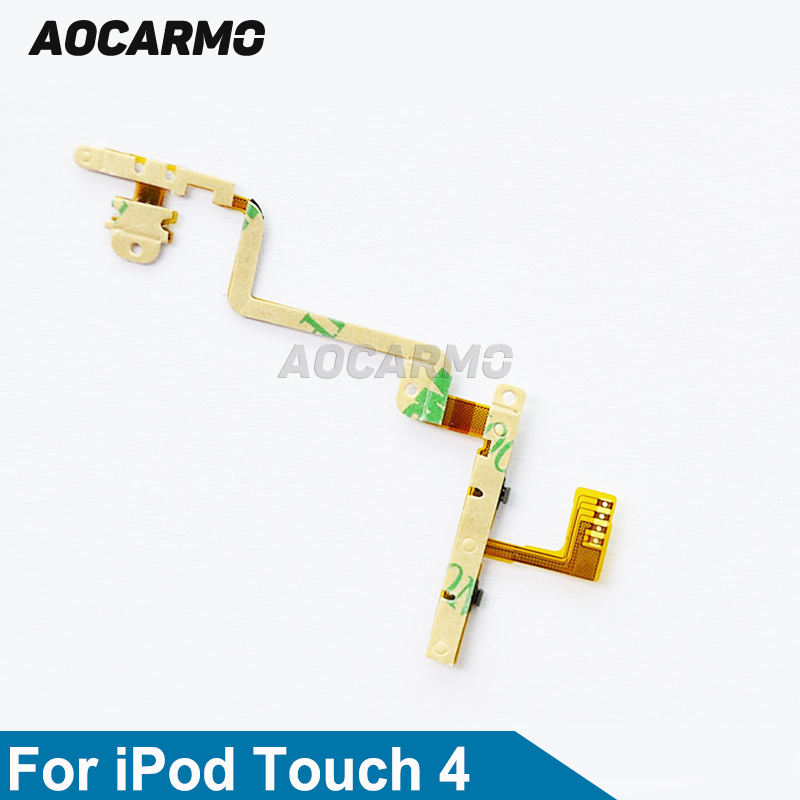 Aocarmo New Power On/Off Volume Button Flex Cable For iPod Touch 4 4th image