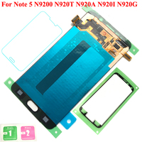 FIX2SAILING LCD 100% Working AMOLED LCD Display Touch Screen Assembly For Samsung Galaxy Note 5 N9200 N920T N920A N920I N920G