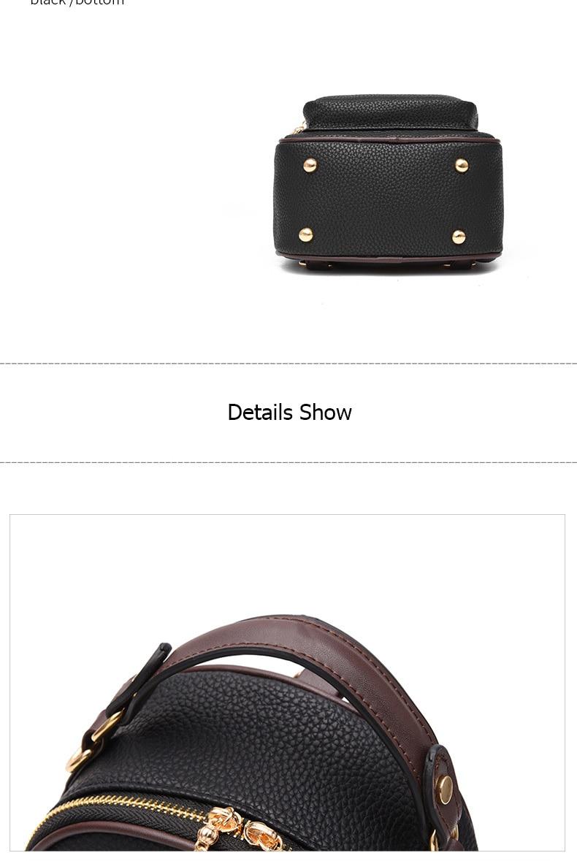 HTB1NwNDtStYBeNjSspaq6yOOFXa7 Brand New Leather Small Women Backpacks Zipper Shoulder Bag Female Phone Bags Lady Portable Backpack for Girls Casual Style