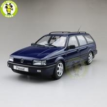 1/18 KK باسات B3 Vr6 البديل 1988 دييكاست نموذج سيارات لعب الصبي فتاة الهدايا شيئا يمكن فتح
